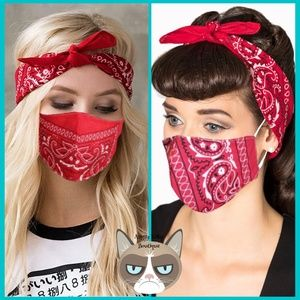 SET  Bandana Mask